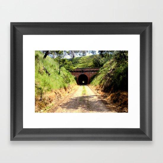 Cheviot Tunnel #2 Framed Art Print