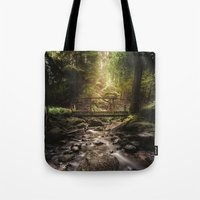 dick Tote Bags featuring Moby dick by HappyMelvin
