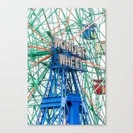 Wonder Wheel Coney Island (Brooklyn USA) Canvas Print