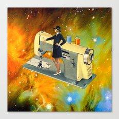 Barbara's Spaceship Canvas Print