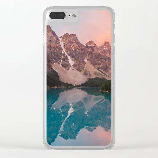 Moraine Lake, Canada Clear iPhone Case