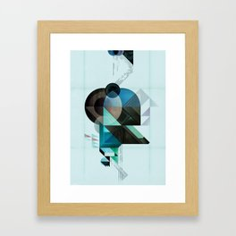 Coherence Framed Art Print