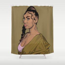 QUEENNAIJA Shower Curtain