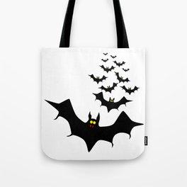 Vampire Bats Tote Bag