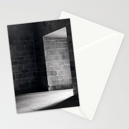 Scary view of hollow Stationery Cards