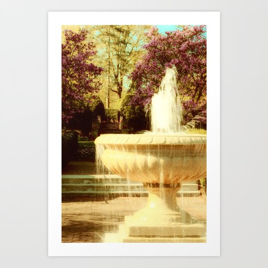 Spring in Tuscany Art Print