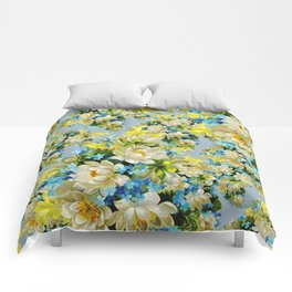 Background Backdrop Patterns Fowers Comforters