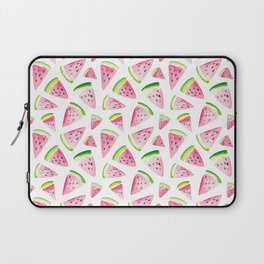 Watercolor Watermelon Pattern Laptop Sleeve