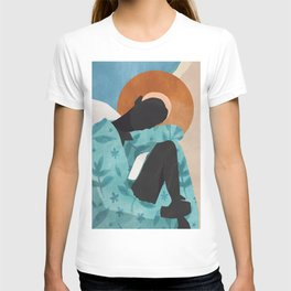 Abstract Art Girl T-shirt