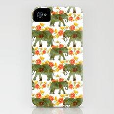 Wading Elephants iPhone (4, 4s) Slim Case