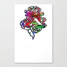 X Chi Canvas Print