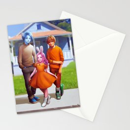 Realistic Gumball Stationery Cards