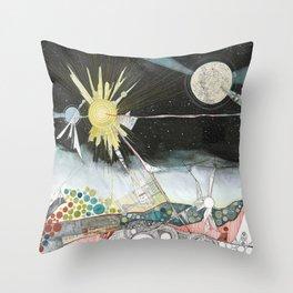 Exploration: The Sun Throw Pillow