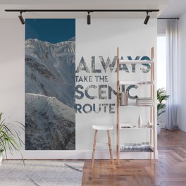 Scenic Route Wall Mural