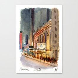 Richard Rogers - Hamilton Marquee Canvas Print