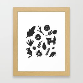 Bits & Pieces Framed Art Print