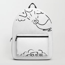 White Elephant Vote Drawing Backpack