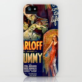 The Mummy vintage movie poster iPhone Case