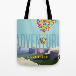 UP - Adventure Is Out There! Tote Bag