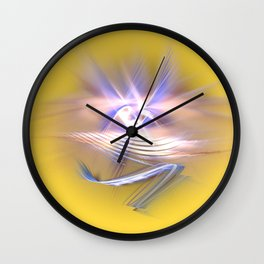 pure spirit -the eye Wall Clock