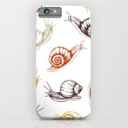 Snails snails snails iPhone Case