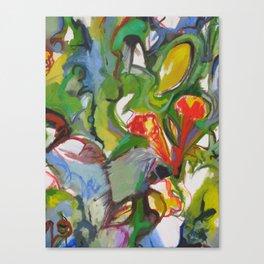 Rhapsody Trumpet Vines Canvas Print