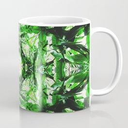 Symmetry in Green Coffee Mug