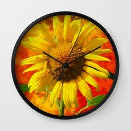 Autumn Gem Wall Clock