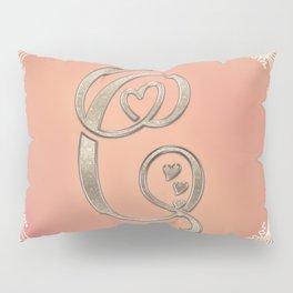 Autumn Monogram C Pillow Sham