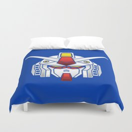 Mobile Suit in Disguise Duvet Cover