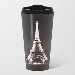Vintage Style Paris Travel Mug