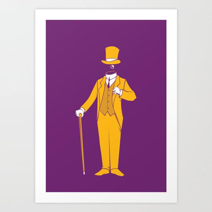 No Gentlemen Left Art Print