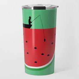 Watermelon Fisher Travel Mug