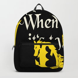 Game Master Roleplaying funny Slogan Backpack