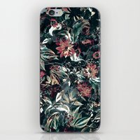 garden iPhone & iPod Skins featuring Space Garden by RIZA PEKER