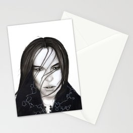 Covered in Darkness  Stationery Cards