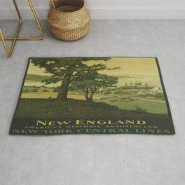 Vintage poster - New England Rug