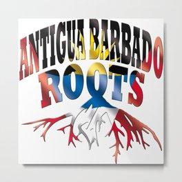 Antigua and Barbuda Metal Print