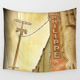 Phillipe's French Dip - Los Angeles, CA Wall Tapestry