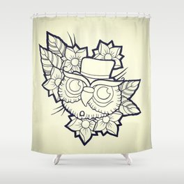 Hooligan Art Shower Curtain