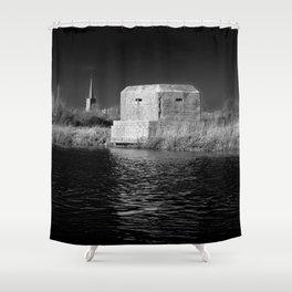 dark times... Shower Curtain