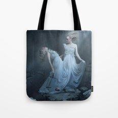 Upon the eternal sleep Tote Bag