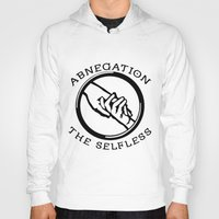 divergent Hoodies featuring Divergent - Abnegation The Selfless by Lunil