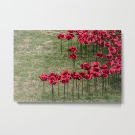 We Will Remember Them Metal Print