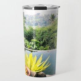 Bali infinity pool Travel Mug