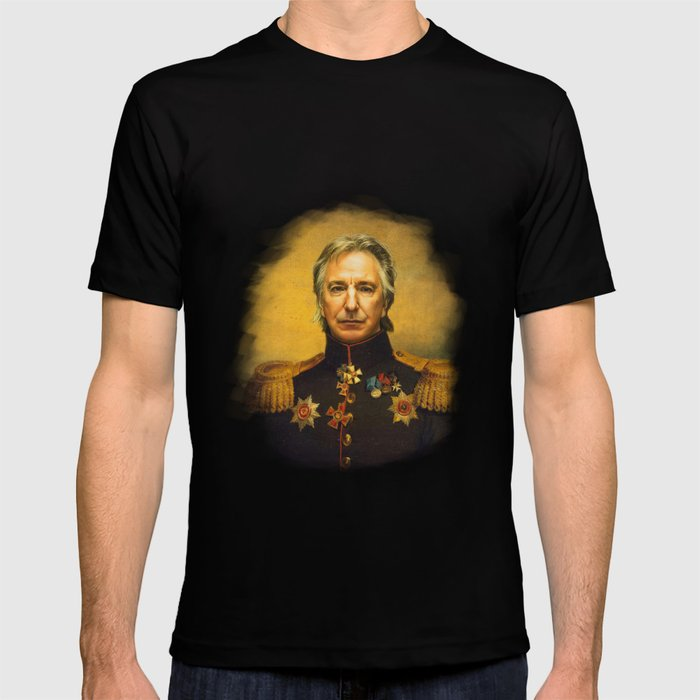 Alan Rickman - replaceface T-shirt