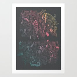 Ink Magic Art Print