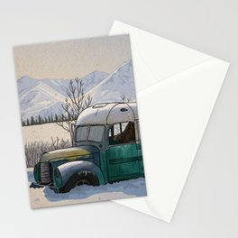 Into the Wild Fairbanks Bus Stationery Cards