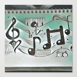 Cool rhythm Canvas Print