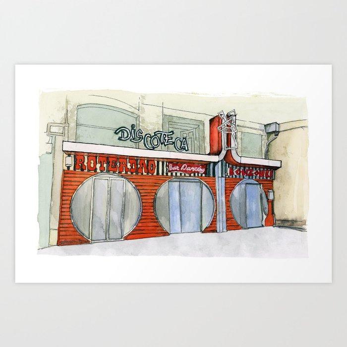Roterdao Club Art Print